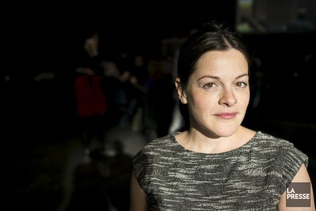 Sophie Cadieux est porte-parole du Festival de courts... (La Presse, Édouard Plante-Fréchette)