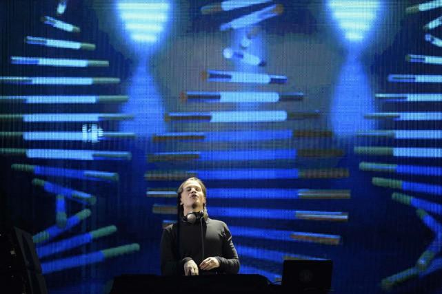 Le DJ norvégien Kyrre Gorvell-Dahll, alias Kygo... (Photo ODD ANDERSEN, AFP)