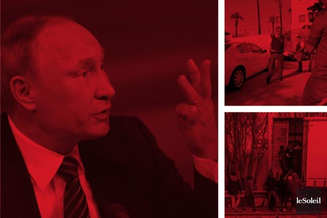 Poutine trouve Trump «brillant et plein de talent» (Infographie Le Soleil)