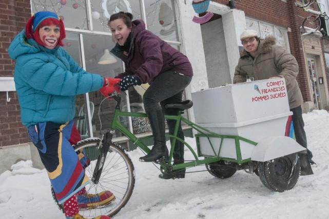 Atchoum vient de céder un vélo qui faisait... (Photo Le Progrès-Dimanche, Michel Tremblay)