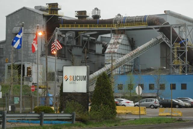 Silicium Québec estle plus important employeur de Bécancour.... (Archives, François Gervais)