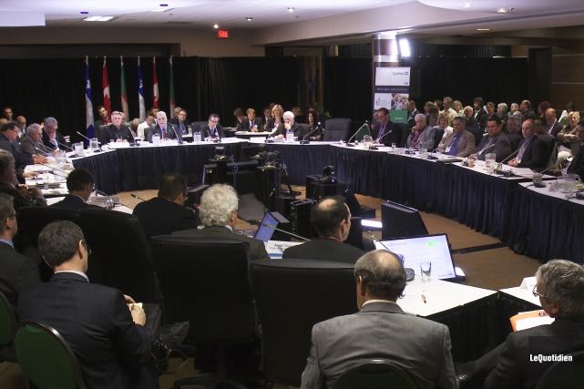 Le Sommet économique régional, en juin 2015.... (Archives Le Quotidien)