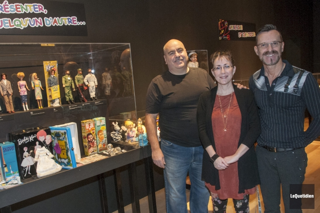 Voici les trois artisans de Local de jouets:... (Photo Le Quotidien, Michel Tremblay)