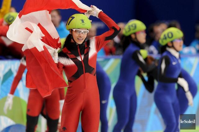 Kalyna Roberge au Jeux de Vancouver en 2010.... (Photothèque Le Soleil)