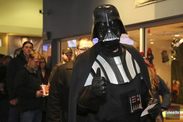 Certains fans s'étaient déguisés pour l'occasion.... (Julie Catudal, La Voix de l'Est)