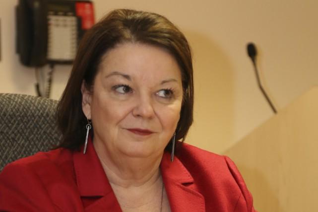 La présidente et directrice générale du Centre intégré... (Photo Janick Marois)