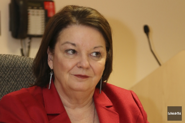 La présidente et directrice générale du Centre intégré... (Janick Marois, La Voix de l'Est)