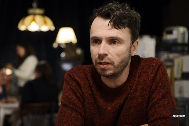 Le réalisateur Sébastien Pilote... (Photo Le Quotidien, Jeannot Lévesque)