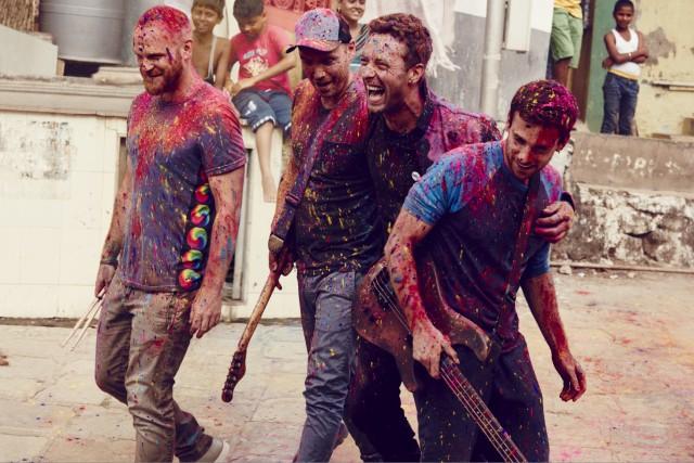 Pour la première fois de sa carrière, Coldplay... (Fournie par Warner Music)