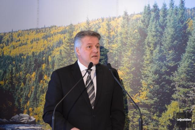 Le ministre de la Forêt, de la Faune... ((Archives Le Quotidien))