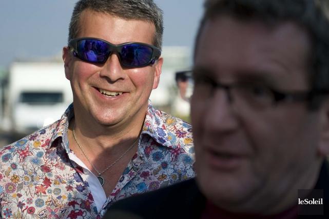 Paul-Christian Nolin, l'attaché de presse, travaille dans l'ombre... (Photothèque Le Soleil, Steve Deschênes)