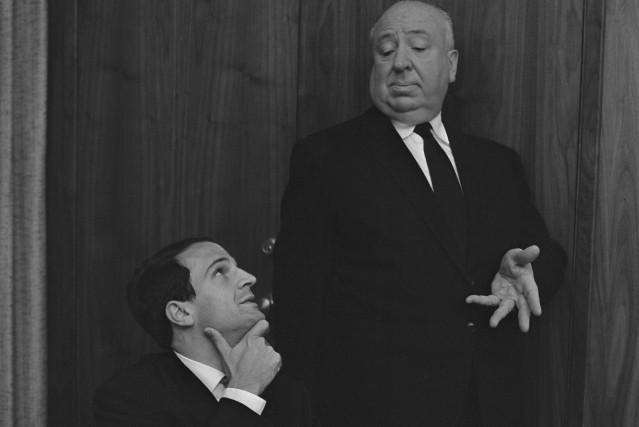 François Truffaut (à gauche)a investi autant d'efforts dans... (Philippe Halsman fournie par Cohen Media Group)