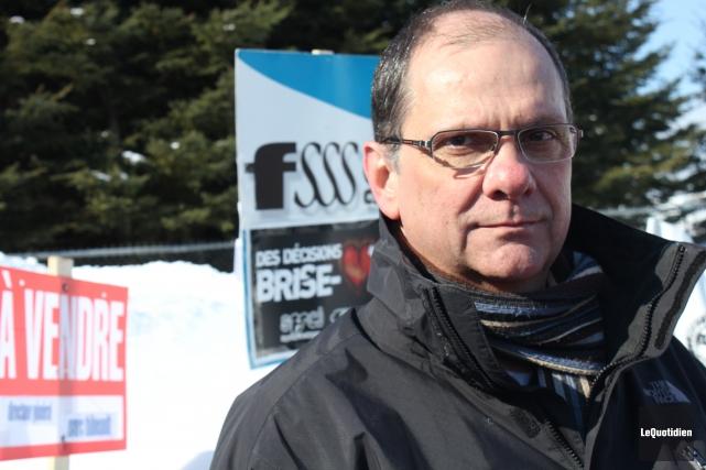 Le président régional de la FSSS-CSN, Gaston Langevin.... ((Archives Le Quotidien))