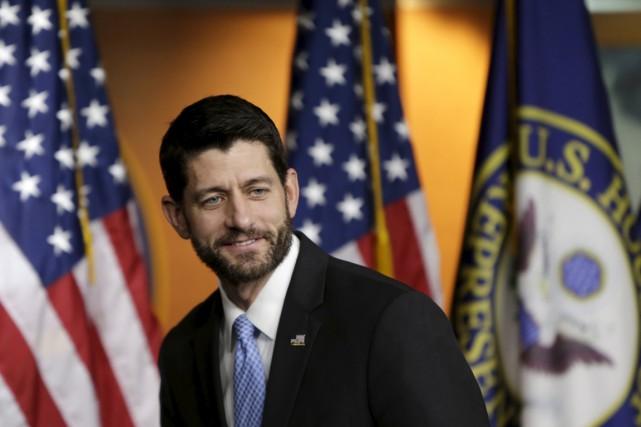 Le président républicain de la Chambre des représentants... (PHOTO GARY CAMERON, ARCHIVES REUTERS)