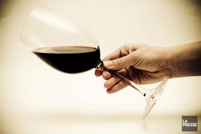 On peut boire du vin dans toutes sortes... (PHOTO ARCHIVES LA PRESSE)