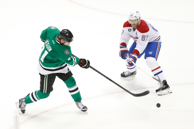 Tyler Seguin et Max Pacioretty... (Photo Tim Heitman, archives USA Today)