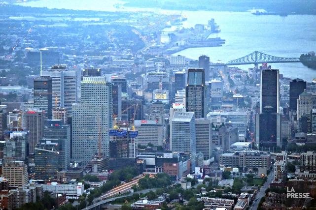 L'embellie économique de Montréal sera principalement attribuable au... (PHOTO BERNARD BRAULT, ARCHIVES LA PRESSE)