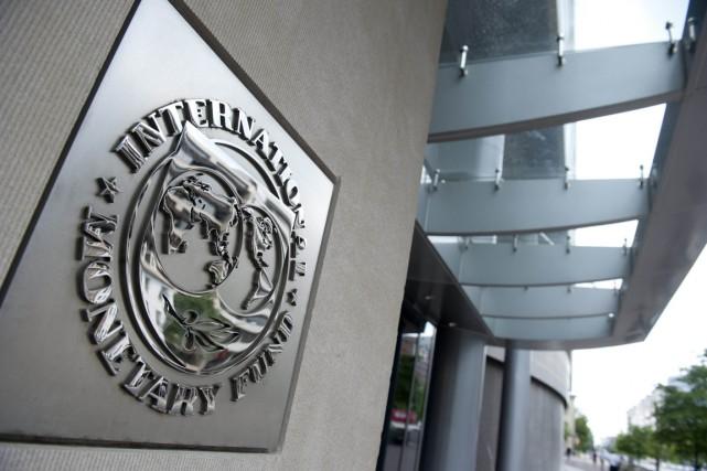 Les bureaux Fonds monétaire international (FMI)à Washington... (PHOTO SAUL LOEB, ARCHIVES AGENCE FRANCE-PRESSE)
