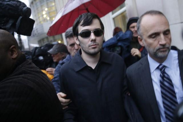 Martin Shkreli a été inculpé pour fraude dans... (PHOTO SETH WENIG, AP)