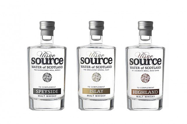 Le trio eaux à whisky deVinum.... (Photo tirée du site internet de la compagnie)