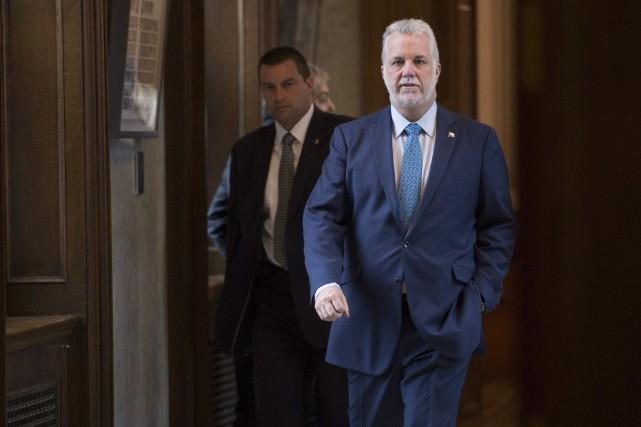 Le gouvernement Couillard, sous le prétexte fallacieux de... (La Presse Canadienne)