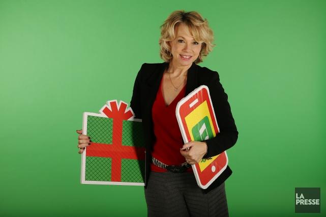 Martine St-Clair présente un spectacle de Noël au... (PHOTO MARTIN CHAMBERLAND, LA PRESSE)