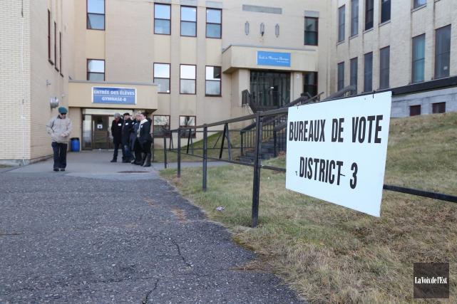 Les électeurs du district trois, à Granby, sont... (Julie Catudal, La Voix de l'Est)