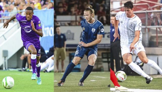 Dennis Chin (Jamaïque), Lance Rozeboom (États-Unis) et Fernando... (Courtoisie)
