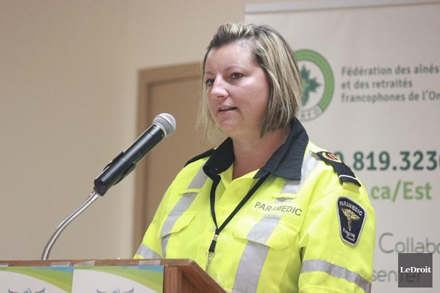 Sabrina Rodrigue, gestionnaire de programme aux Services d'urgence... (Martin Brunette, LeDroit)