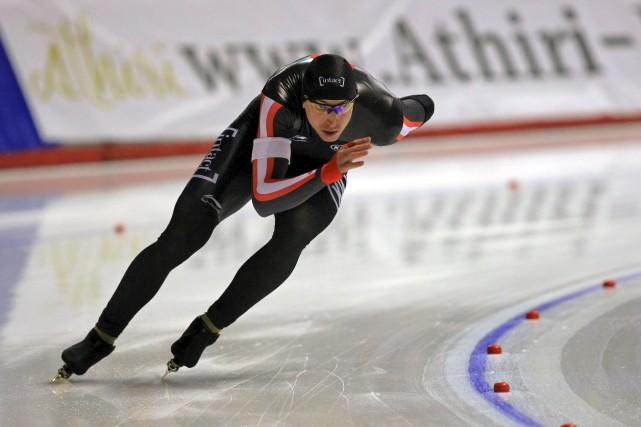 Le patineur sherbrookois Alex Boisvert-Lacroix a connu un... (Photo fournie)