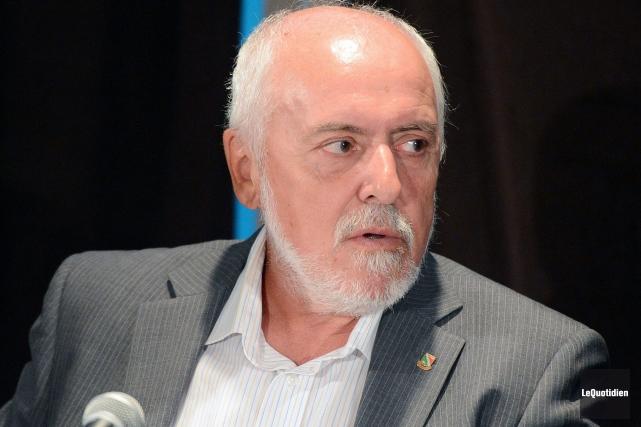 Gilles Potvin demande des réponses du gouvernement du... (Archives Le Quotidien, Jeannot Lévesque)