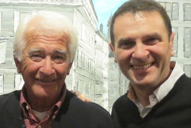 Le député de Shefford, François Bonnardel (à droite),... (Fournie)