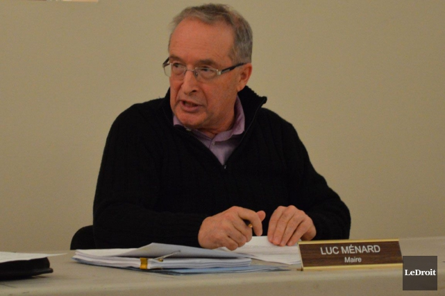 Le maire de Montebello, Luc Ménard.... (Archives, LeDroit)