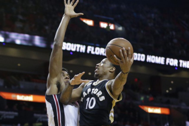 DeMar DeRozan... (Photo Lynne Sladky, AP)
