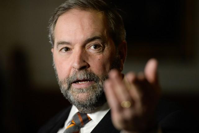 Le chef du NPD estime que son message... (PHOTOADRIAN WYLD, ARCHIVES LA PRESSE CANADIENNE)