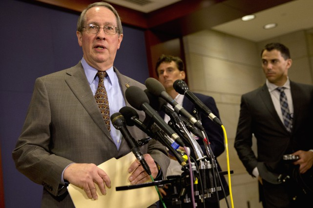 Bob Goodlatte a accusé l'administration Obama de ne pas... (PHOTO JACQUELYN MARTIN, ASSOCIATED PRESS)