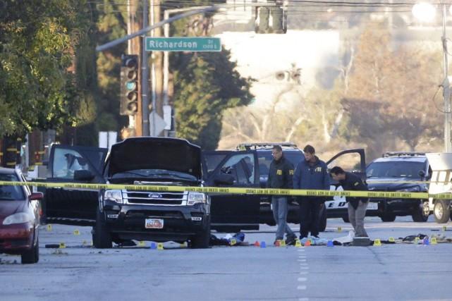 La tuerie de San Bernardinoest le plus grave... (AP, Jae C. Hong)