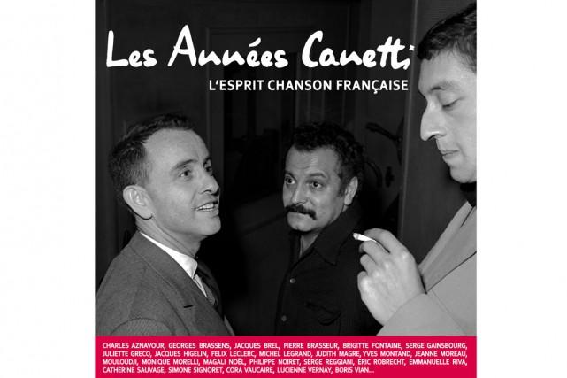 Les années Canetti, 22 vinyles, 2 CD, affiche...