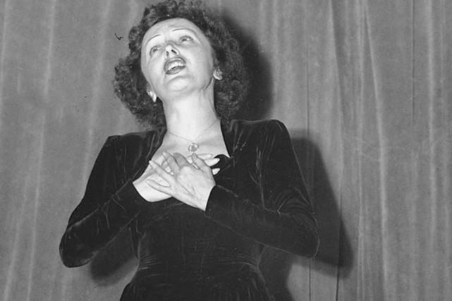 La venue d'Édith Piaf à Québec en 1955... (Archives AP)