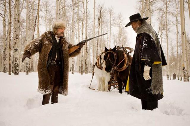 Quentin Tarantino a voulu retrouver l'essence du cinéma en réalisant un western... (Photo Les films Séville)