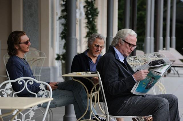 Depuis des années, deux amis (Harvey Keitel, Michael... (Photo fournie par Fox Searchlight)