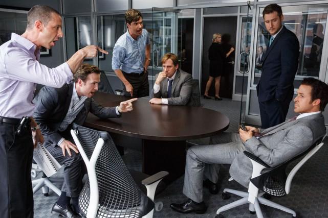 À l'instar de Moneyball, le nouveau film tiré... (Photo fournie par Paramount)
