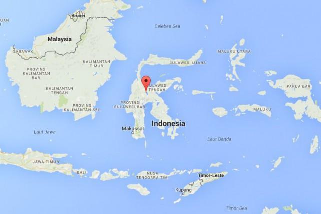 Le naufrage s'est produit au large de l'île... (CAPTURE D'ÉCRAN GOOGLE MAPS)