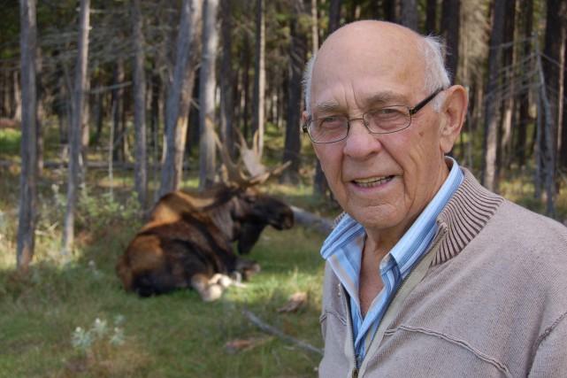 Ghislain Gagnon, le fondateur du Zoo sauvage de... (Archives Le Progrès-Dimanche)