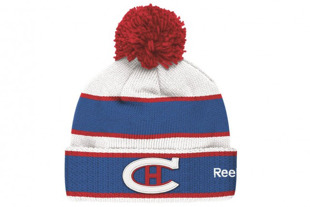 Tuque Reebok Canadien « Classique hivernale ». Version senior : 34,99 $ ; version...
