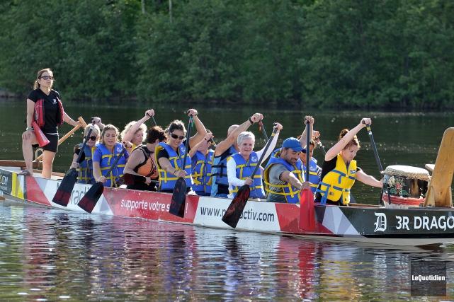 Le Festival de bateaux-dragons se tiendra de nouveau... (Archives Le Quotidien, Mariane L. St-Gelais)