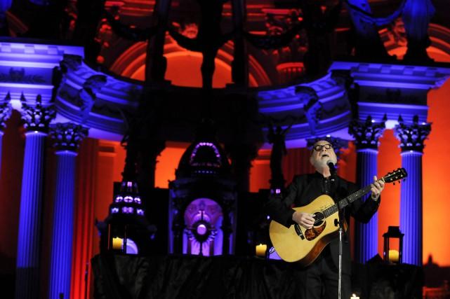 La popularité du chanteur country Patrick Normand a... (Photo Le Progrès-Dimanche, Mariane L. St-Gelais)