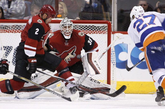 Louis Domingue... (Photo Ross D. Franklin, AP)
