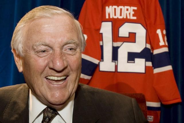 Dickie Mooreestdécédé le 19décembre à l'âge de 84ans.... (PHOTO ARCHIVES LA PRESSE CANADIENNE)