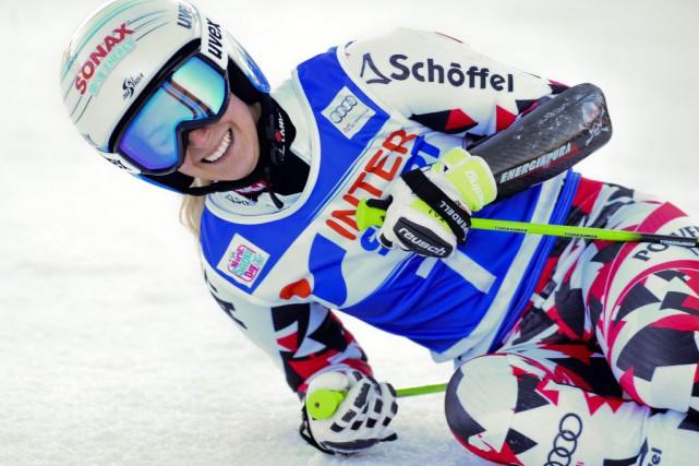 Eva-Maria Bremtotalise désormais dix podiums dans sa carrière,... (PHOTO PIER MARCO TACCA, AP)